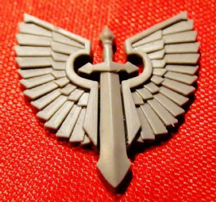Dark Angel Ravenwing Large Vehicle Icon Symbol (sword)